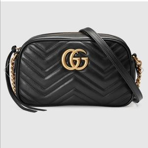 2b62600c053 Women s Gucci Gg Marmont Leather Shoulder Bag on Poshmark